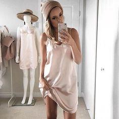 The dress of the season🙌🏼 shop the Gigi slip dress at shopmaccs.com x Dress Up, White Dress, Ootd, Seasons, Shopping, Fashion, Moda, Costume, Fashion Styles