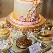 Opulent Treasures Chandelier Cake Stand