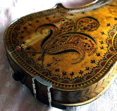 Painted Violin /  love of music / musical images
