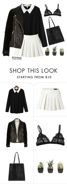 """""""#Romwe"""" by credentovideos ❤ liked on Polyvore featuring Mode, Alexander Wang und River Island"""