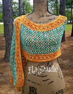 crochet pattern scialle