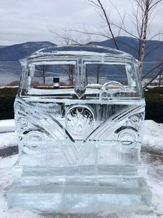 VW Made Of Ice