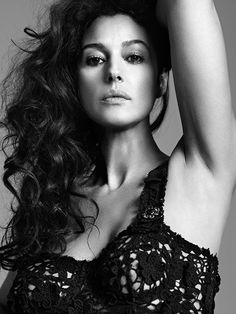 Monica Bellucci (1964) - Italian actress and fashion model. Photo by Bryan Adams, Summer 2012