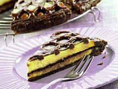 Ricetta Torta con sfoglia al cacao e crema pasticcera
