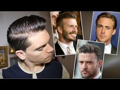 Men's Hair Trend | Slicked Back