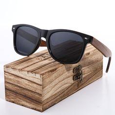 0fc8d0c25e BARCUR 2018 Black Walnut Sunglasses Wood Polarized Sunglasses Mens Glasses  UV 400 Protection Eyewear in Wooden