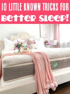 #ad Learn how to get to sleep faster and better with these 10 little known tricks! You won't believe what a difference they make and how refreshed you'll feel! Have YOU tried any of these tips yet?? How To Sleep Faster, When You Sleep, How To Get Sleep, Sleep Better, Italian Marinade For Chicken, Bedroom Decorating Tips, Life Hacks Every Girl Should Know, Baby Hacks, Baby Tips