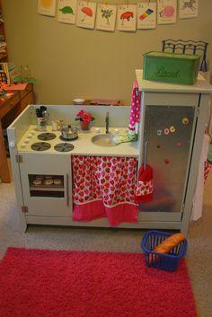 Bonne Nouvelle: Repurposed dream Play Kitchen--ABRIDGED