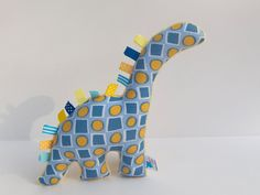 Plush Dinosaur - Minky Stuffed Animal