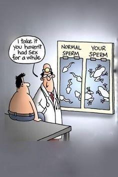 Now I am really afraid to be tested...Hahaha