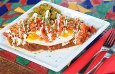Huevos Rancheros - our brand new Breakfast Menu item