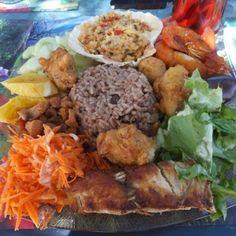 Assiette créole, Guadeloupe 2012
