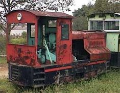 No.5 Diesel Locomotive, Narita Dream Dairy Farm (Rasuchijin Railway Association), Chiba Pref. JAPAN