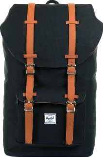 Herschel Little America Mid Volume backpack Noir `One size Fabrics : Polyester canvas Details : Front pocket with zip, Magnetic closure, Drawstring, Interior pocked padded to hold a tablet or laptop up to 13 , Vents to prevent sweating 38 x 30 x 11cm http://www.comparestoreprices.co.uk/january-2017-7/herschel-little-america-mid-volume-backpack-noir-one-size.asp