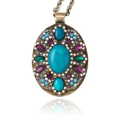 samantha wills april fifteen pendant Samantha Wills, Every Girl, Pendant Necklace, Turquoise, Jewels, Chic, My Style, Jewellery, Accessories