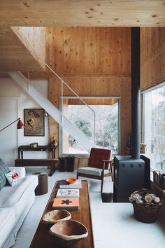 I want a modern cabin                                                                                                                                                                                 More