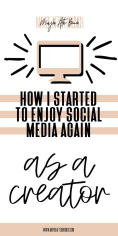 How I've been able to enjoy social media again as a creator Social Media Strategy Plan, Social Media Tips, Affiliate Marketing, Online Marketing, Social Media Marketing, Digital Marketing, Instagram Marketing Tips, Instagram Tips, Social Channel
