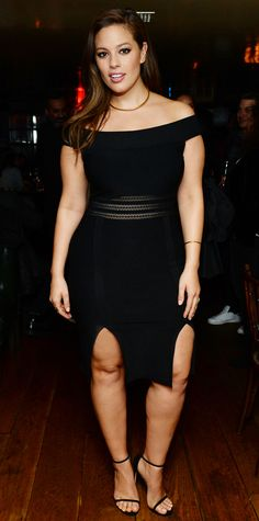 9 Plus-Size Style Lessons to Learn from Ashley Graham - Show Some Decolletage from InStyle.com