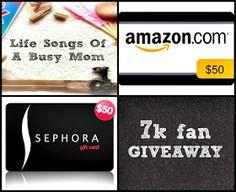 Life Songs Of A Busy Mom: Life Songs Of A Busy Mom 7k Giveaway! #fab7kgiveaway & #backtoschool