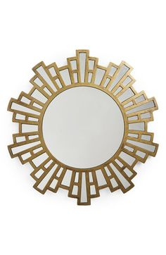 Era Home 'Gold Starburst' Mirror available at #Nordstrom