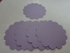 Set of Circle Scallops Tags with or by PaperCraftingByMandy, $1.25