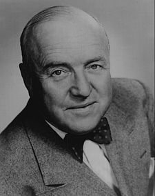 """William Frawley, Burlington. Actor of stage, screen, television, best known for playing Fred Mertz on the """"I Love Lucy"""" television series."""