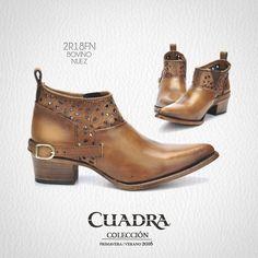 Desde cualquier ángulo, siempre perfectos. #CUADRA #Shoes #Boots #Zapatos #Botines #Leather
