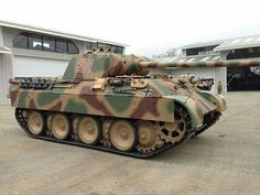 The Restored panther Ausf A, at the littlefield collection, California USA.