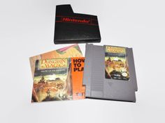 Vintage NES Dungeon Magic Game, Sword Of The Elements, Nintendo Game Cartridge, Case, Booklet, And Map by JandDsAtticTreasures on Etsy