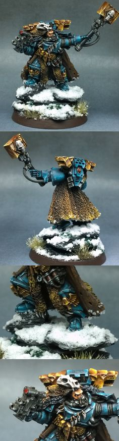 Gamesday Rune/Wolf Priest - Space Wolves