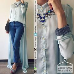 Silky High-low Shirt ✨  قميص من الحرير ستان بقصة مميزة ولون صيفي •Available Colors: Peach • Available Sizes: S, M & L  #ghadashop #turban #turbans #accessories @ghadaaccessories #instahijab #hijab #fashion #hijabfashion #jeans #instafashion #casual #stylish #veildgirls #ladies #dress #skirt #shirt  #pearl #modesty #abaya #cardigan #skirt #classy #vintage  #designs #newcollection