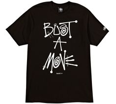 Bust A Move Tee #stussy #deliciousvinyl #collab