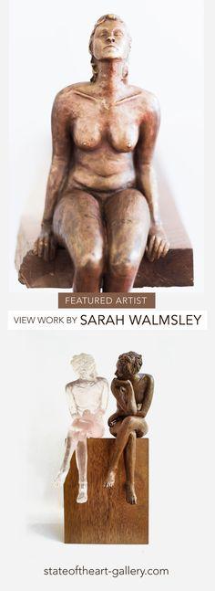 Sarah Walmsley sculpts the real female nude in bronze and resin. Street Gallery, Art Gallery, Bird Street Art, Melrose Arch, National Art, Art Festival, State Art, Artist Art, African Art