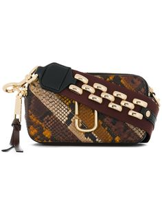 MARC JACOBS MARC JACOBS - SNAPSHOT PATCHWORK CAMERA BAG . #marcjacobs #bags #shoulder bags #leather #