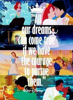Walt Disney just inspires me so much Words to live by Old Disney, Disney Girls, Disney Love, Disney Magic, Disney Stuff, Disney Couples, Disney Fanatic, Disney Addict, Disney And Dreamworks