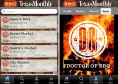 Texas Monthly iPhone App Tracks BBQ Across the World