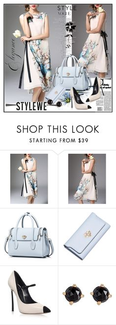 """""""stylewe"""" by lip-balm ❤ liked on Polyvore featuring Casadei, Irene Neuwirth, Summer and office"""