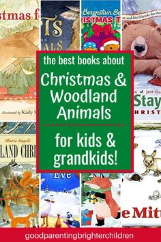 """Ever read the book, """"The Berenstain Bears' Christmas Tree?"""" Here are 7 Christmas activities to complement the book and teach grandkids & kids the golden rule while doing fun Christmas activities—art, books, crafts, cooking & more. #christmastraditions #christmastraditionsfamilies #christmastraditionsideas #christmasbooks #grandparentsandchristmas #grandparentscrafts #grandparentsactivities #christmasactivities Woodland Christmas, Christmas Books, Christmas Fun, Holiday Fun, Christmas Traditions Kids, Christmas Activities For Families, Woodland Animals Theme, Berenstain Bears, Diy Gifts For Kids"""