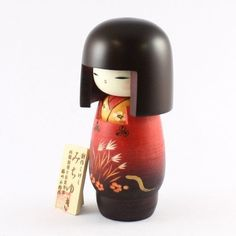 Kokeshi Dolls are major dolls in Japan which are made from wood. Their origin was in Edo era (1603A.D. - 1867A.D.) as souvenirs for the injured at hotsprings. Since then kokeshi craftsmen's skills to