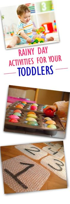 5 Fun Rainy Day Activities For Toddlers: Here are 5 fun rainy day activities for toddlers, which are a great way to introduce them to a few fundamental concepts, staying indoors: