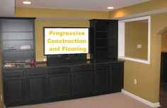 finished basement cabinets   your cabinets and shelving will be also included during the finish ...