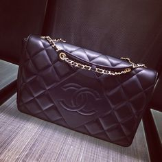 CHANEL Diamond CC Flap Bag For Fall Winter 2014 Pre-Collection