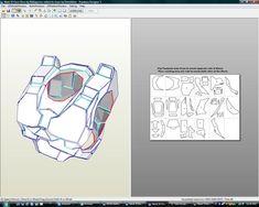 Halo Spartan Mark VI Foam Files : Complete Armour files Source by siegberts Vi Cosplay, Halo Cosplay, Cosplay Armor, Halo Spartan Armor, Halo Armor, Master Chief Armor, Halo Master Chief, Dibujos Sugar Skull, Eva Foam Armor