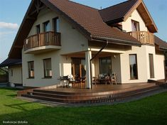 Projekt domu Gracjan 131,33 m2 - koszt budowy 249 tys. zł - EXTRADOM Home Fashion, Mansions, House Styles, Home Decor, Houses, Decoration Home, Manor Houses, Room Decor, Villas