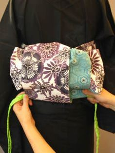 半巾帯の結び方 素敵な帯結び その3 ■小春太鼓