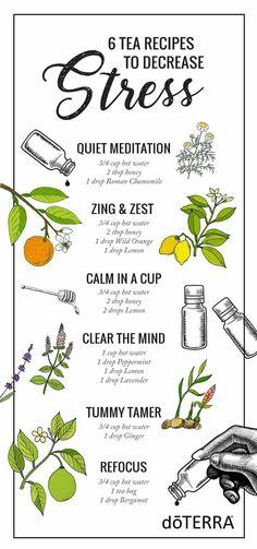 Tea recipes for stress.