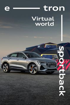 The Audi e-tron Sportback stars in the world's largest Virtual Expo - you can even test drive it. #Audi #etronSportback #ElectricHasGoneThrilling  -------------------- Electric power consumption combined: 23.9 – 20.6 kWh/100 km (NEFZ); CO2-emissions combined: 0 g/km // Further information: www.audi.com/dat The displayed vehicle shows optional equipment at extra charge. Individual equipment will be available at a later date. Automotive Manufacturers, Electric Power, Amazing Cars, Driving Test, Virtual World, Worlds Largest, Toyota, Audi, Stars
