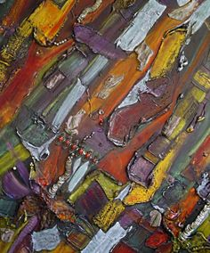 Splash of color modern abstract painting on by HopscotchCouture, $3775.00