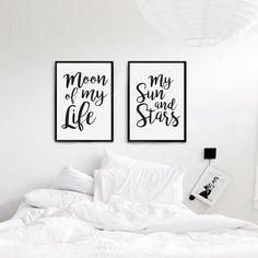 Deko-Objekte - Poster für das Schlafzimmer, Liebe Plakat, - ein Designerstück von LovelyDecor bei DaWanda