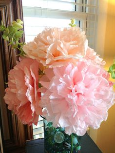 diddle dumpling: Tutorial: Coffee filter flowers. This is the best tutorial I have seen for these flowers so far. Very easy looking and they go step by step with pictures!